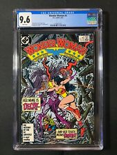 Wonder Woman #4 CGC 9.6 (1987) - Decay...her touch means DEATH!