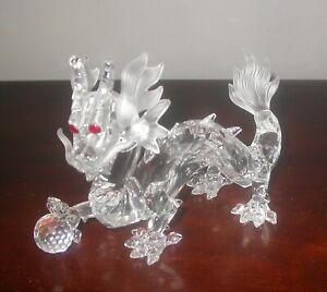 "Swarovski Crystal Fabulous Creatures ""DRAGON"" #208398 MIB"