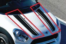 MINI NUOVO ORIGINALE R60 R61 HOOD Stripe Nastro ADESIVO NERO COPPIA Sinistro N / S Destro O / S