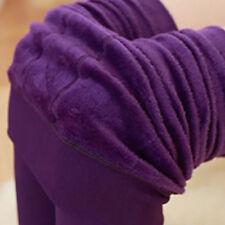 Neu Damen Thermo Leggings Warm Weich Blickdicht Winter Strumpfhose Leggins Hosen