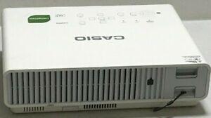 Casio XJ-M141 HDMI Projektor 873H Lampe Stunden Gebraucht Ref: 1533