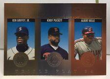 Ken Griffey Jr./Kirby Puckett/Albert Bell 1994 Donruss Triple Play Medalists #11
