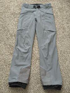 Black Diamond Dawn Patrol Softshell Ski Pants - Men's Medium - Grey / Ash