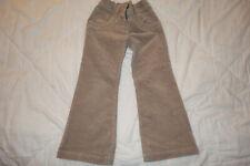 Velours lederimithose Aniston kurzgröße 20 CAMEL Bootcut Pantalon T 40 NEUF