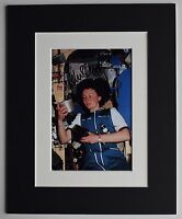 Helen Sharman Signed Autograph 10x8 photo display MIR Space Station AFTAL & COA