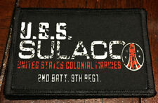 Aliens movie USS Sulaco Colonial Marines Morale Patch Tactical Military Flag USA