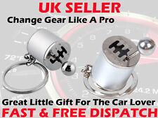 Gear knob gear shift Gear stick gear box Metal Llavero key chain Mini