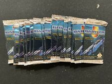 Babylon 5 CCG Deluxe Edition Booster Pack Lot x18 Packs