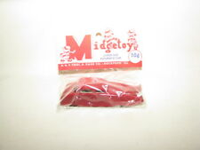VINTAGE RED MIDGETOY JUNIOR SIZE FUTURISTIC CAR/MINT IN PACKAGE/1950'S