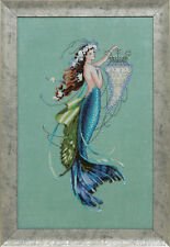 """COMPLETE XSTITCH KIT """"SIREN AND THE SHIPWRECK MD126"""" by Mirabilia"""