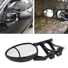 1pc Caravan & Trailer Towing Car Safety Dual View Clip-On Wing Mirror Extensions