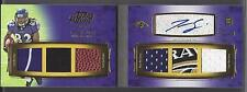 TORREY SMITH 2011 TOPPS PRIME LEVEL 1 BOOK 6 PIECE LOGO PATCH AUTO RC #D 3/10