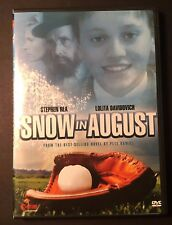 SNOW IN AUGUST (DVD) victim of school bullies -based on the Pete Hamill novel