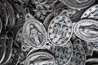 Huge Catholic Italian Miraculous Medal Lot - 100 Medals - FREE SHIPPING from USA