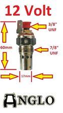 "Universal Heater Glow Plug Tractor Spade Terminal Thread 7/8"" UNF Perkins Heat"