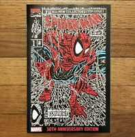 Spider-man #1 Shattered Facsimile RED Edition 1,000 copies - RARE HTF NM 9.6 9.8