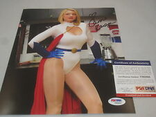 CARRIE KEAGAN SIGNED 8X10 PHOTO PSA/DNA SEXY HOT BIG MORNING BUZZ V95845