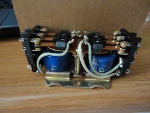 Deltrol controls 101ml latching relay dual coils 24v.d.c. 6 pole  D.T. 10amps