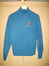 100% MERINO WOOL SAILORS JUMPER H.M.S. GAVINGTON EXCELLENT CONDITION  WOLSEY