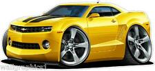 2010 Chevy Camaro SS Turbo Fire Wall Graphic Decal Vinyl Sticker Man Cave Decor
