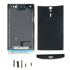 New Full Housing Case Cover Replacement For Sony Ericsson Xperia S LT26i Black