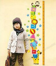 Kid's Height Measure Wall art Stickers Children's Decal