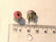 Condensador variable de lámina de condensador de ajuste 6 ~ 75pF PTFE 10X5mm Dau Austria 2 Piezas Oferta!