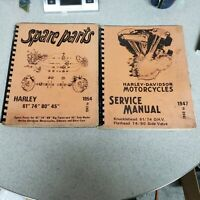 40-47 HARLEY DAVIDSON KNUCKLEHEAD 61 74 FLATHEAD 74 80 SERVICE MANUAL PARTS