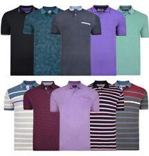 Mens KAM BIG Fashion Polo Shirt Short Sleeve Casual Cotton Summer 2-8XL