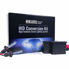 9006 6000K 35W Pure White Ultra Slim Ballast Xenon HID Kit fit Low Beam
