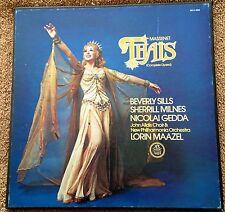 Massenet: Thais - Beverly Sills, Maazel  Angel SCLX-3832 (2 LP Box)