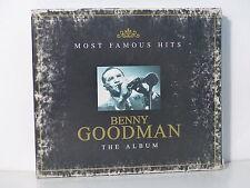 CD ALBUM BENNY GOODMAN Most famous hits 2X 2002 2XCD