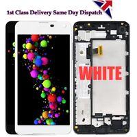 LCD For Nokia Microsoft Lumia 650XL Touch Screen Digitizer Display Frame White