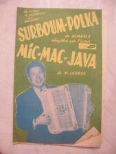 Partitur Partei Polka Aimable Mic Mac Java M Legros