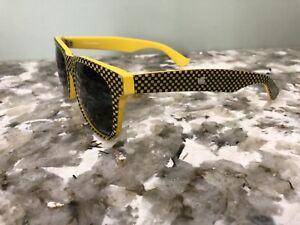 Mosley Tribes Free City Rainbow Yellow Checkered 53-19-145 Men's Sunglasses