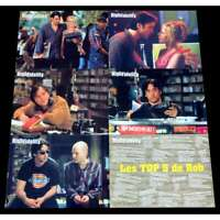 HIGH FIDELITY French Lobby Cards X6 9x12 - 2000 - Stephen Frears, John Cusack