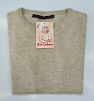 PULL TAILLE XL SWEATER FEMME 100% PUR CASHMERE CACHEMIRE PURE LE ROSSE 41 ITALIA