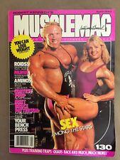 MUSCLEMAG International bodybuilding magazine / DAVE FISHER & SUE PRICE / 4-93