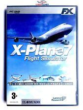 X-Plane 7 PC Nuevo Completo Retro Videogame Videojuego Mint Condition PAL/SPA