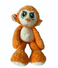 Ganz Daydreamerz Orange Monkey Embroidered Stars Eyes Stuffed Animal Plush HTF