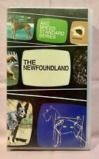 Akc Breed Standard Series - The Newfoundland Pure Bred Pedigree Dog - Vhs