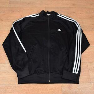 vtg 90's ADIDAS Retro Track Suit Top Jacket - sz Large #188