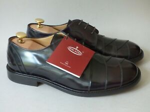 MEN'S NEW SOLATIO ITALY CHERRY RED NORTHERN SOUL MUSIC DANCE MOD SHOES BOX UK8 2
