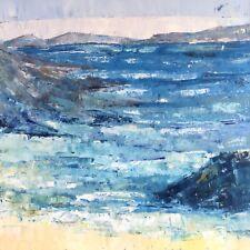 "Ilona MURAVJOVA Large 16""x16"" Abstract Art Original Signed Oil Painting Canvas"