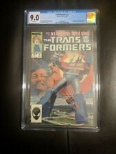 Transformers #1 - CGC 9.0 - Bill Mantlo  - Marvel Comics 1st Print