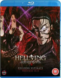 Hellsing Ultimate: Volume 9 - 10 Collection Blu-ray
