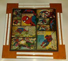 Custom Made 16 X 16 X 2 Inch Mini SPIDERMAN DOMINOES TABLE And Mini Dominoes