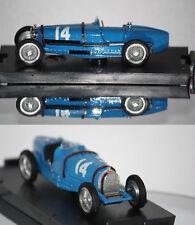 Brumm F1 Bugatti Type 59 1934 T. Nuvolari 1/43 R042