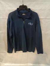 "Nike Golf Half Zip Cotton Blend Top Shirt ""RKL"" Size L Large"