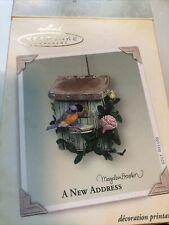 """Marjolein Bastin Nature's sketchbook Hallmark """"A New Address�"""